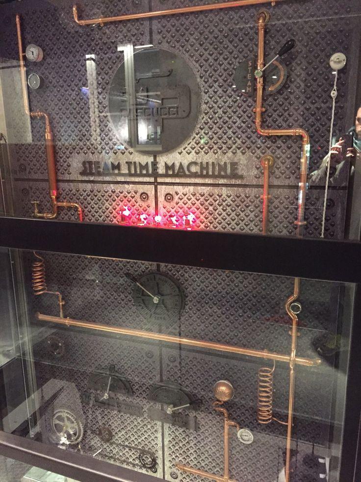 steampunk elevator