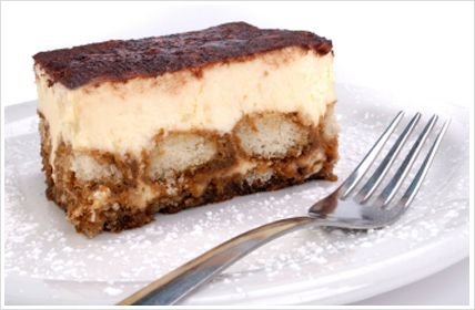 Easy Tiramisu recipe, so delicious. I used sweet sherry in place of brandy worked very well.