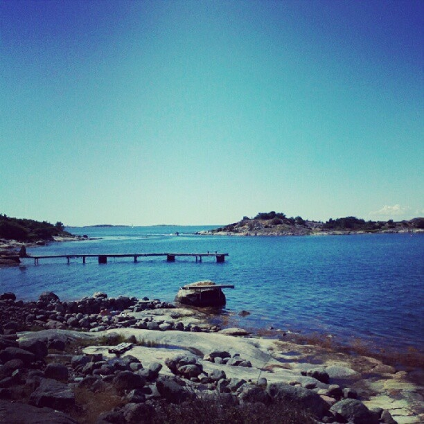 "@mamzellebulles's photo: ""#Särö #Sweden Doesn't it look like paradise?"""
