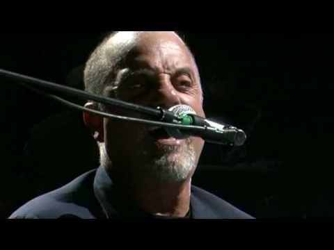 New York State of Mind via Billy Joel--One of my top 3 all time favorite songs.  Billy Joel Concert--Bucket list.