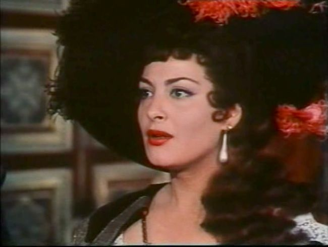 Yvonne Sanson As Milady De Winter The Three Musketeers