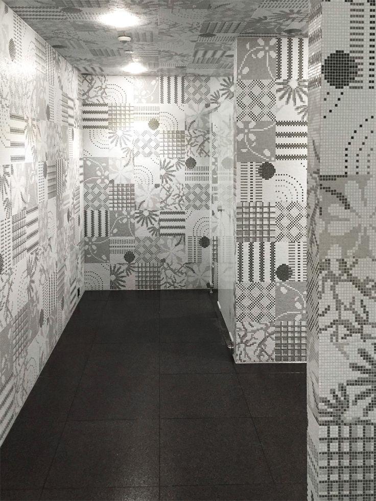 Dall'intuizione di accostare decori diversi si può ottenere un ambiente spettacolare! Vi piace? - By an intuition of combining different decors you can get a spectacular space! Do you like it?