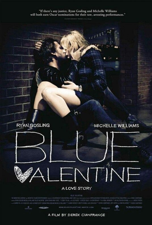 Movie #140 - Blue Valentine - 3/5 stars - #netflixinstantstreaming
