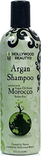 Hollywood Beauty Argan Oil Shampoo, 12 oz (Pack of 12) * You can find out more details at the link of the image.