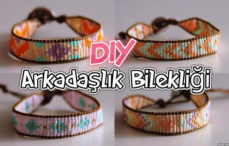 Arkadaşlık Bilekliği - tezgahsız yapım / KENDİN YAP / DIY Miyuki Friendship Bracelet
