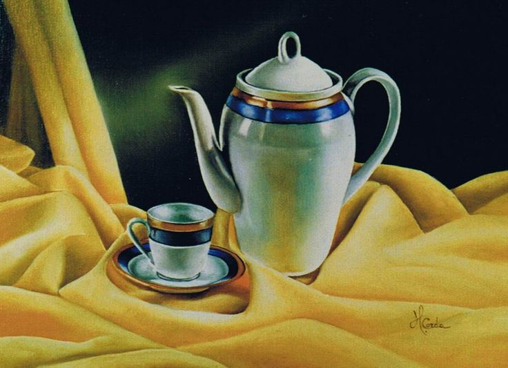 Still life N 162, Oil Painting, 30x40 cm, 2002