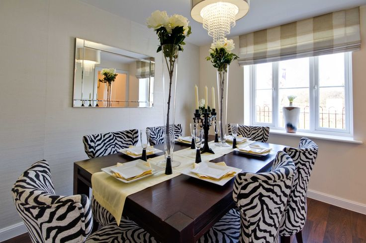 The dining area in The Grace at Aspen Park in Apsley   Bovis Homes