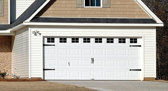 Faux Vinyl Garage Door Windows Decorative Fake Window Decals Etsy Vinyl Garage Doors Fake Window Garage Door Styles
