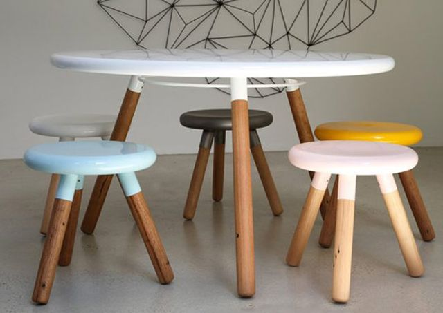 The Spun Milking Stool Photo Gallery