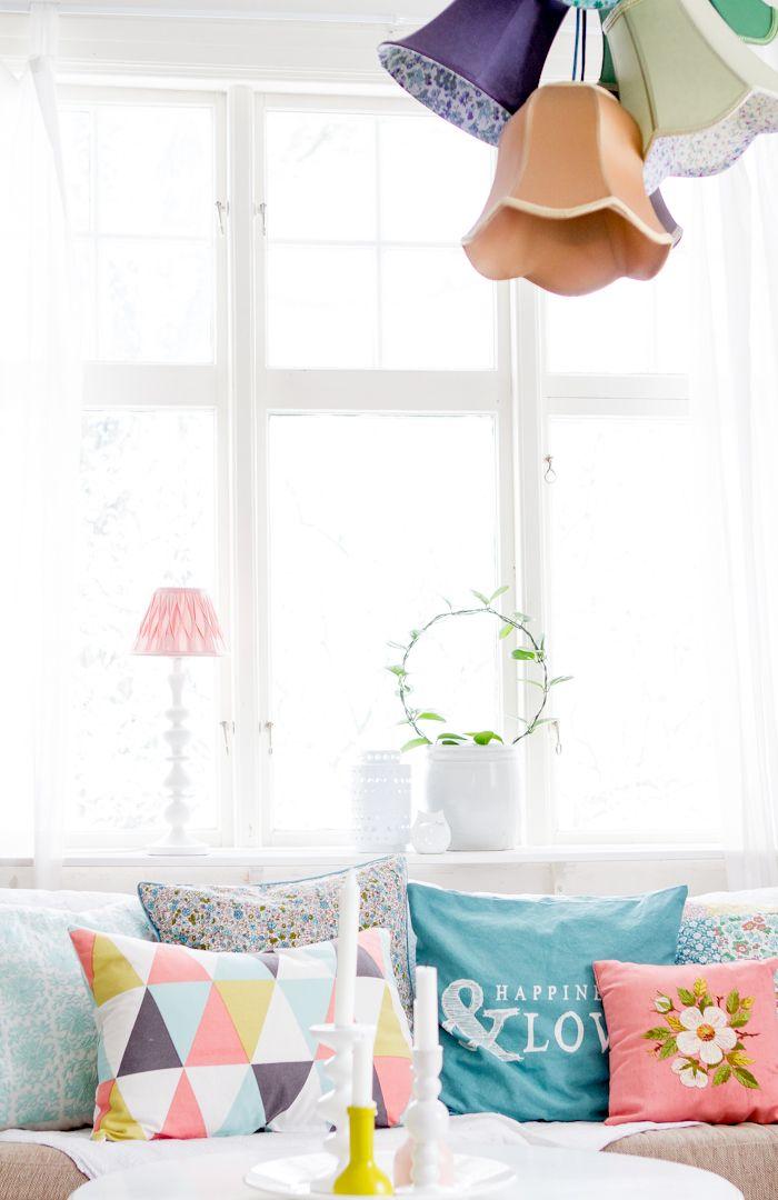 cute couch pillows | härligt hemma.