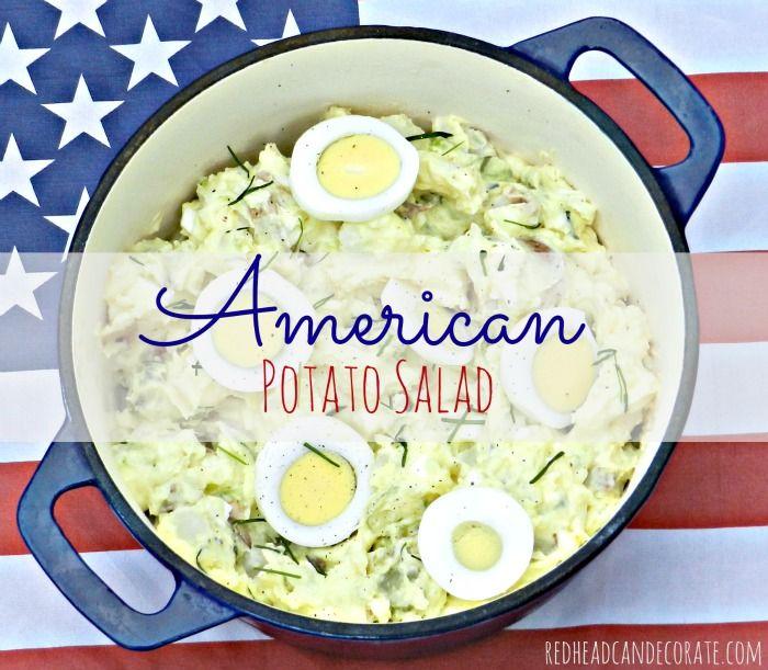 My Mom's American Potato Salad