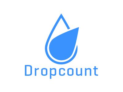 Dropcount logo by Angelo Knf (Konofaos)