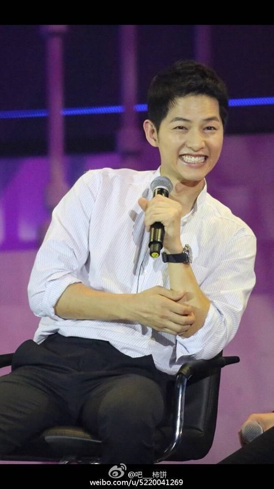 fanmeeting in Peking ^ 20160514 #songjoongki #joongki #sjk #jk cr. on pic