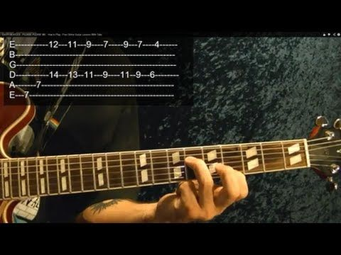 ▶ EASY! BEATLES - PLEASE PLEASE ME - How to Play - Free Online Guitar Lessons With Tabs - YouTube