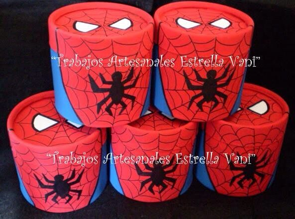 Dulcero lata | Spiderman party | Pinterest