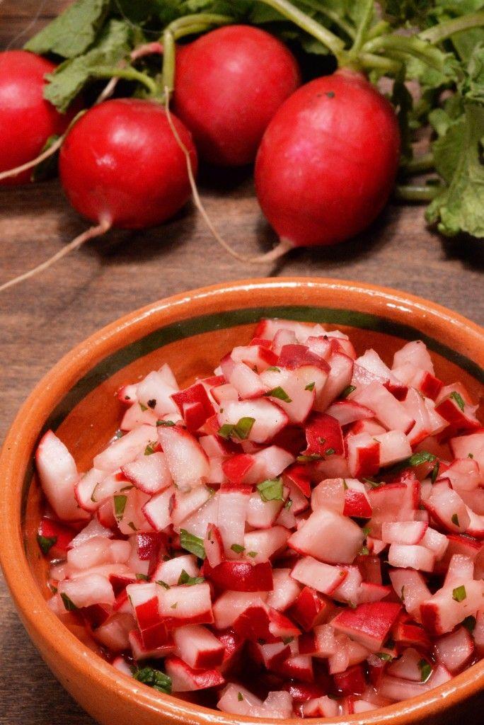 Guatemalan Radish Salad (Picado De Rabano)