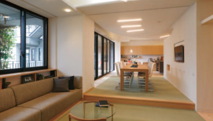 Personal home interior for employee Osaka Gas