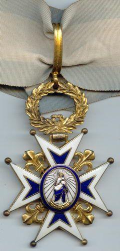 Знак Ордена Карлоса Третьего.