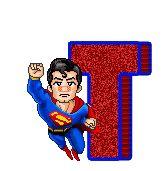 Oh my Alfabetos!: Alfabeto animado de Superman de caricatura.