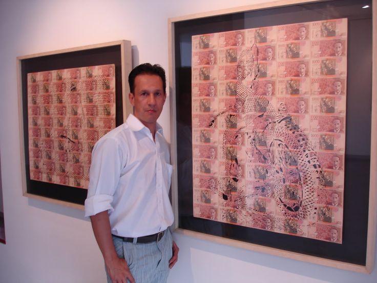 Dario Fernando Ramirez Segura. Galería ADN. Cali. Colombia