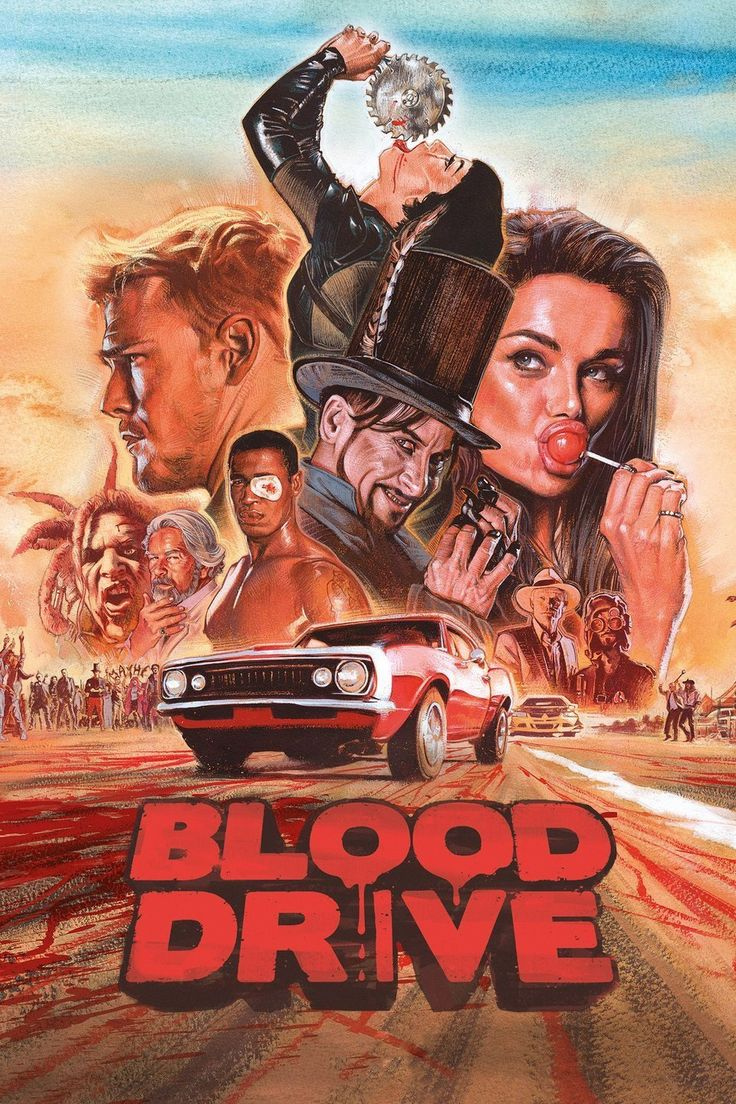 """New Trailer Invites You to Syfy's """"Blood Drive"""" - Bloody Disgusting!"""