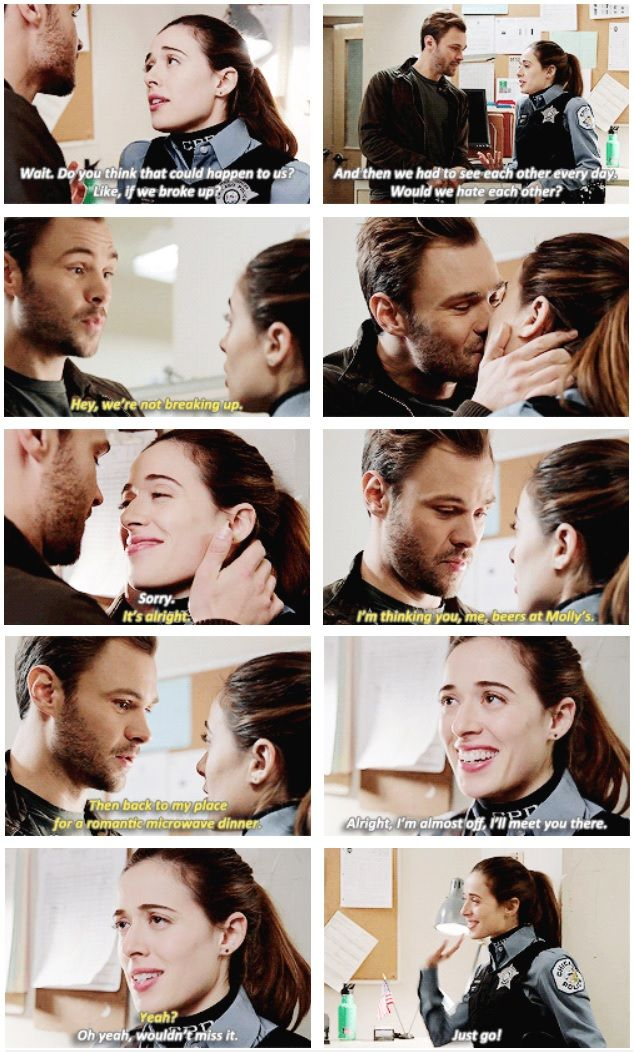 Burgess and Ruzek - 2x09 he will be devistated when he finds out she was shot