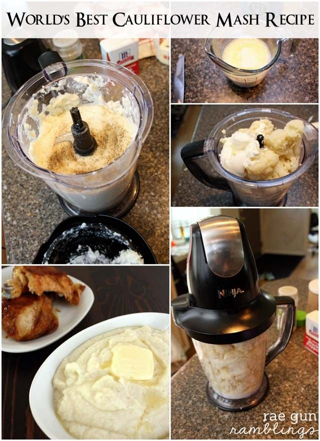 Try delicious mashed cauliflower for a healthier and tasty alternative to mashed potatoes so yummy and healthy - Rae GUn Ramblings