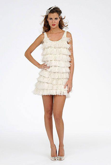 60 best Short wedding dresses images on Pinterest | Wedding frocks ...