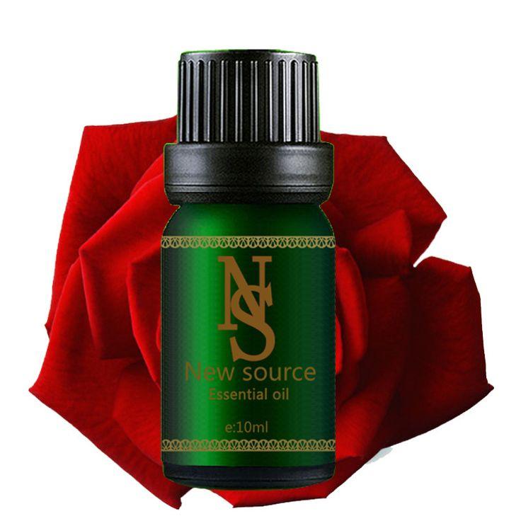 Profesional al por mayor del pie sauna calidad y barato boby care SPA masaje de aceite esencial de rosa aceite de masaje 10 ML A6