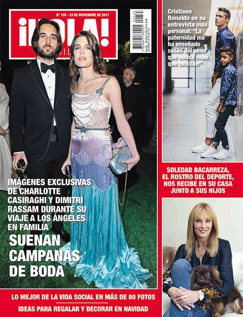 ¡Hola! Chile, No. 135, Nov 2017 #charlottecasiraghi https://www.instagram.com/revistaholachile/