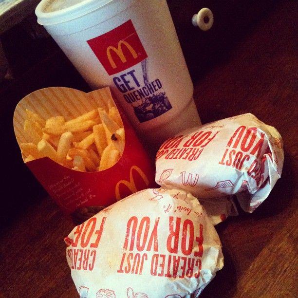 burger, McDonalds, and cheeseburger image