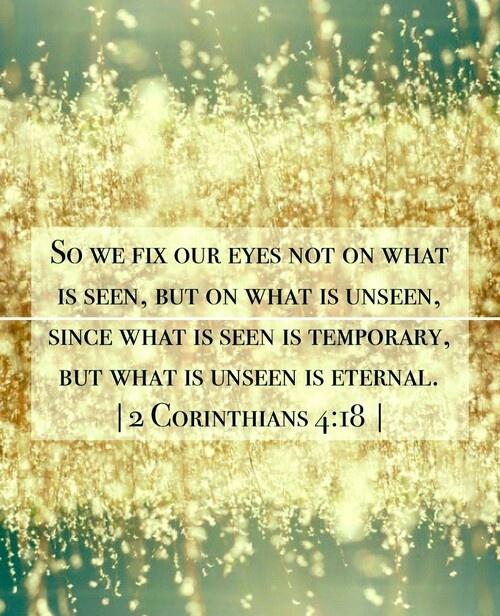 2 Cor 4:18