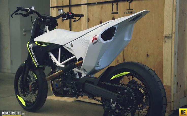 Husqvarna 701 Concept - Un sacré Supermotard !. CLICK the PICTURE or check out my BLOG for more: http://automobilevehiclequotes.tumblr.com/#1506281357