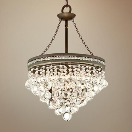Regina Olive Bronze 19 Wide Crystal Chandelier  Fireplaces, Nooks and Love this