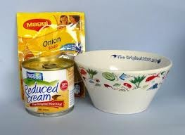 Nestle Kiwi dip bowl, comes with ingredients and some of the bowls feature kiwiana. Perfect for office Secret Santa.