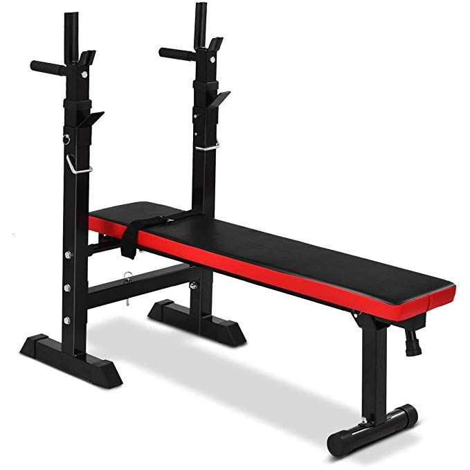 GYMAX Folding Weight Training Bench