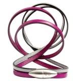 Bullet Bracelet (pink and grey) - Antonio Ben Chimol
