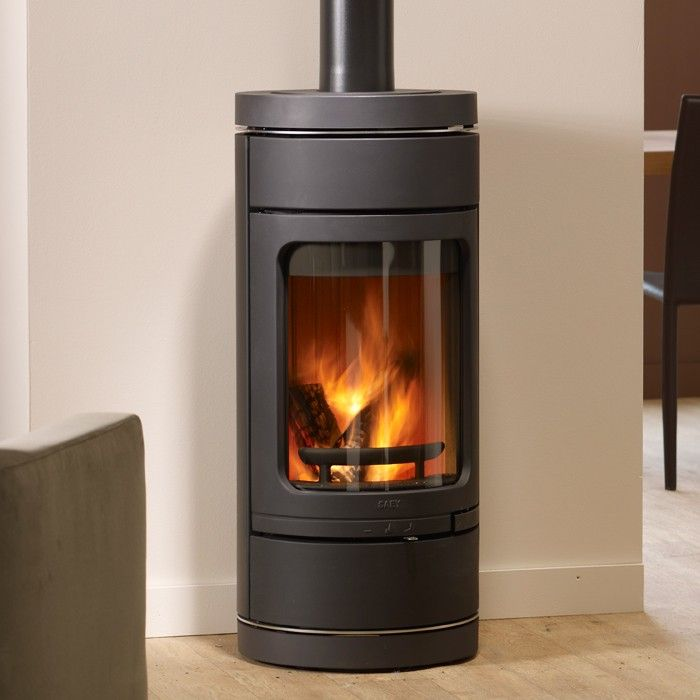 Corner Wood Burning Stoves Saey Linus Woodburning Stove
