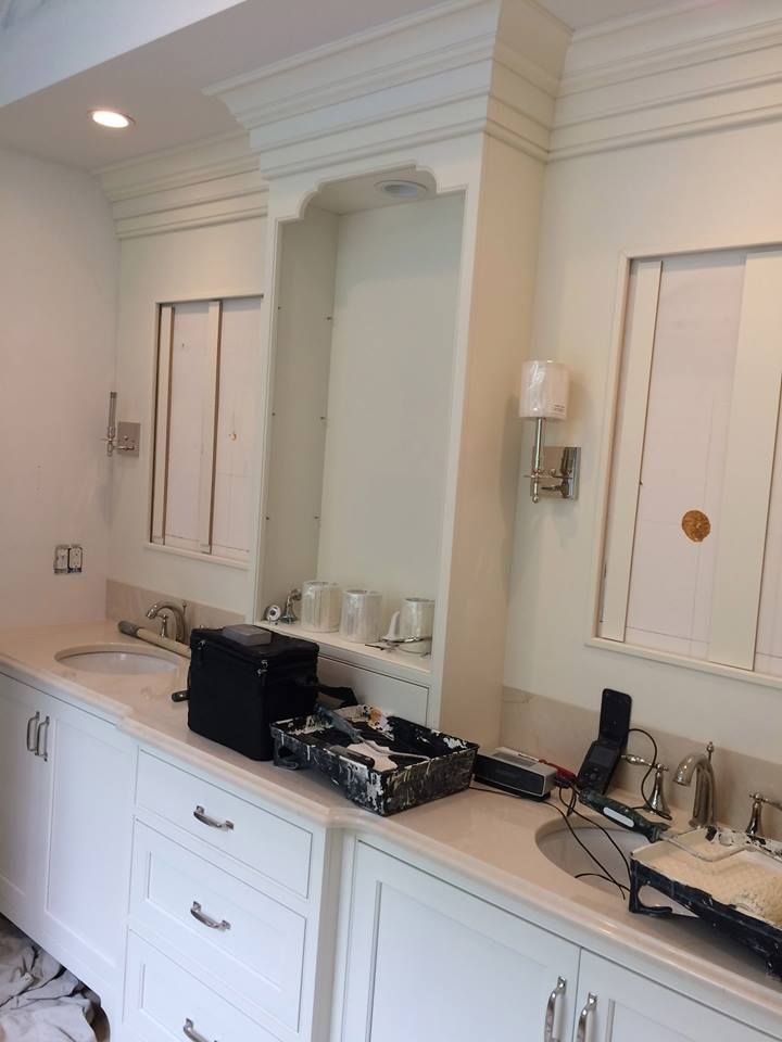 17 Best Images About In Progress Kitchens Baths On Pinterest White Vanity Copper And Marble
