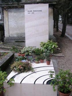 Alain Bashung, au Père Lachaise