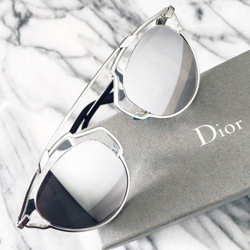 Dior So Real Sunglasses in Silver.