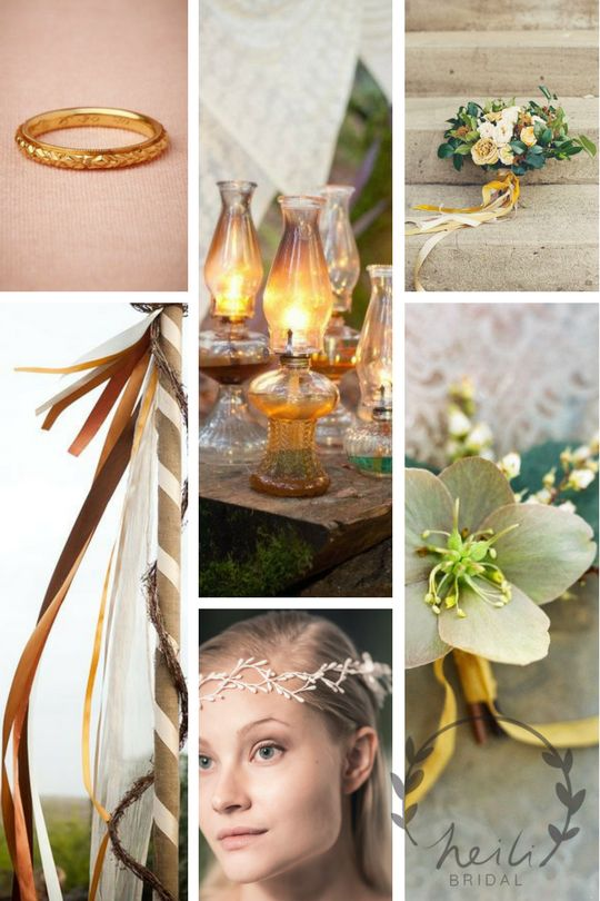 House of Golden Flower wedding aesthetics. Inspiration from Tolkien's tale of elven city Gondolin and Glorfindel from Lord Of The Rings & Silmarillion.