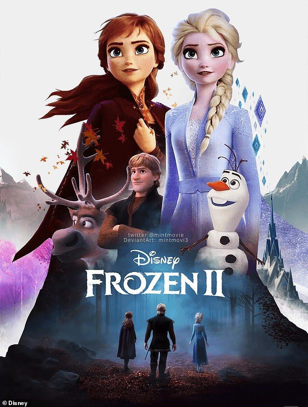 Frozen 2 Now The Highest Grossing Animated Film Ever At 1 325 Billion Frozen Film Disney Frozen Frozen Movie