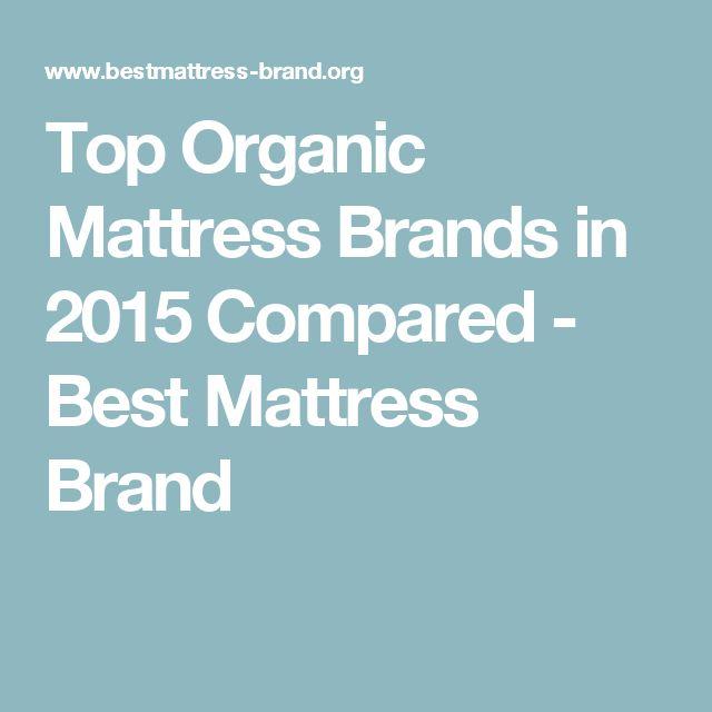 Top Organic Mattress Brands in 2015 Compared - Best Mattress Brand