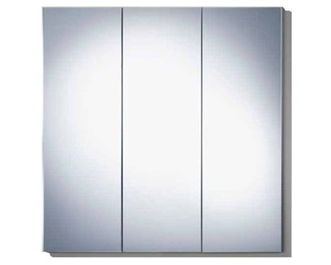 triple door mirrored medicine cabinet this is - Robern Medicine Cabinet