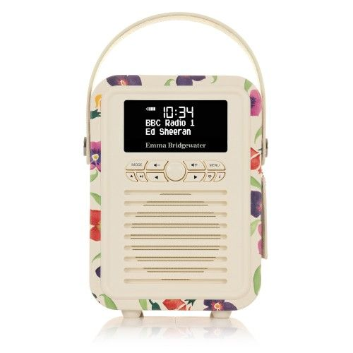 Retro Mini DAB+ Radio & Bluetooth Speaker - Wallflower