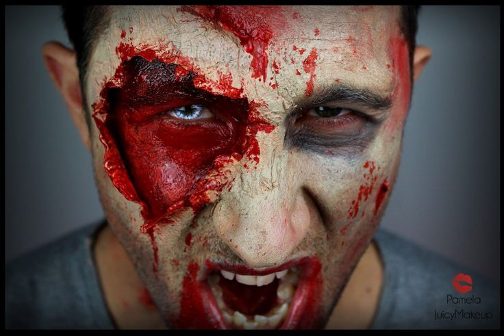 Trucco uomo Halloween - The Walking Dead Inspiration
