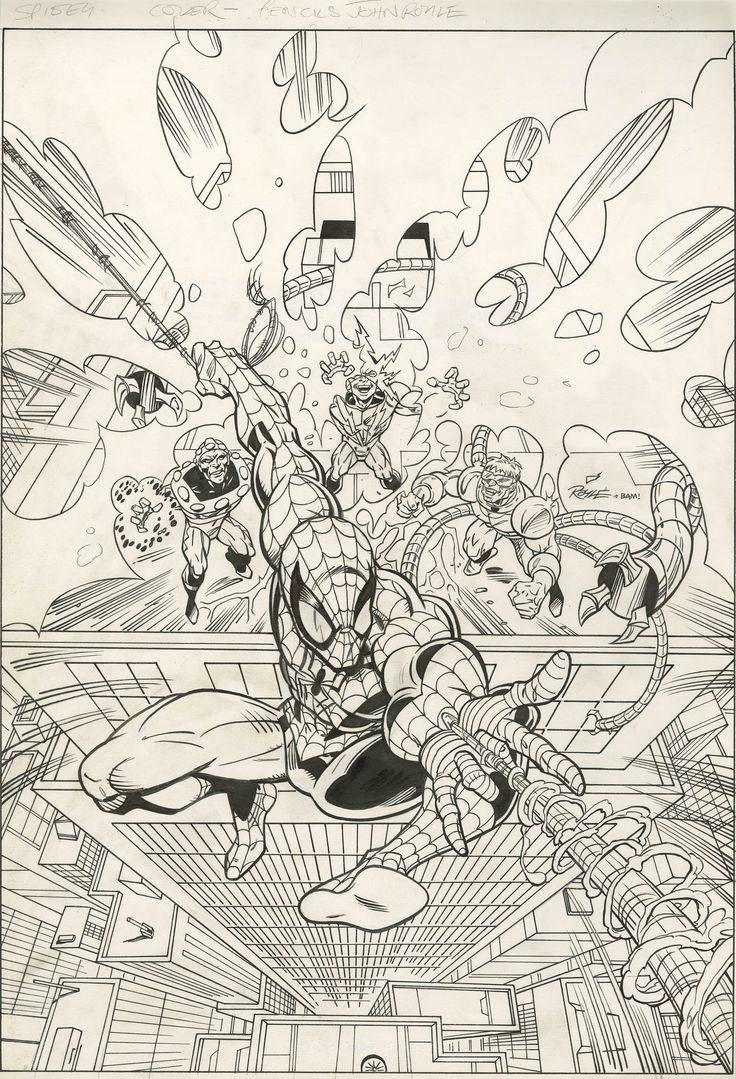 1282 best spiderman images on pinterest comic art marvel comics