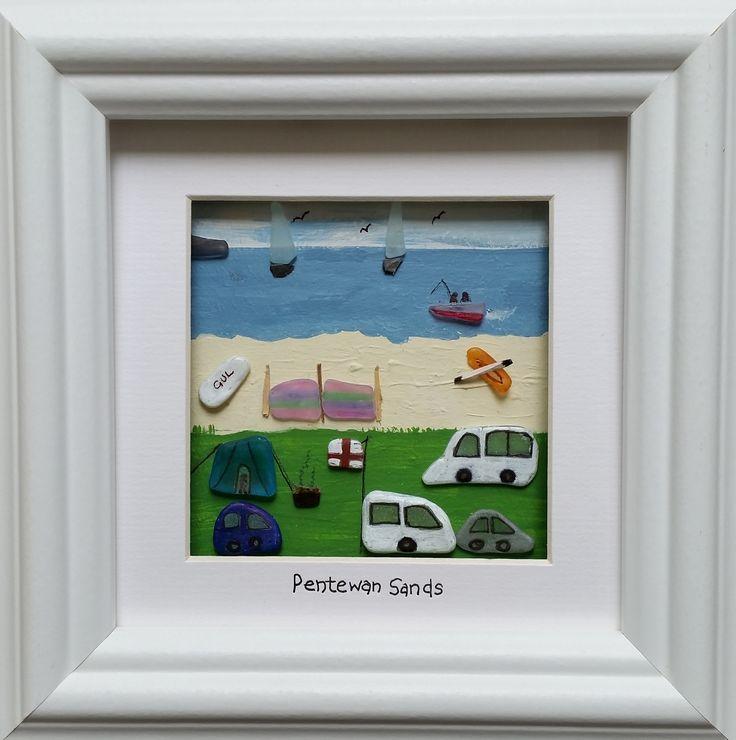 Pebble pictures pebble art The best caravan holiday in Cornwall  https://www.facebook.com/cornwallpebbleart/