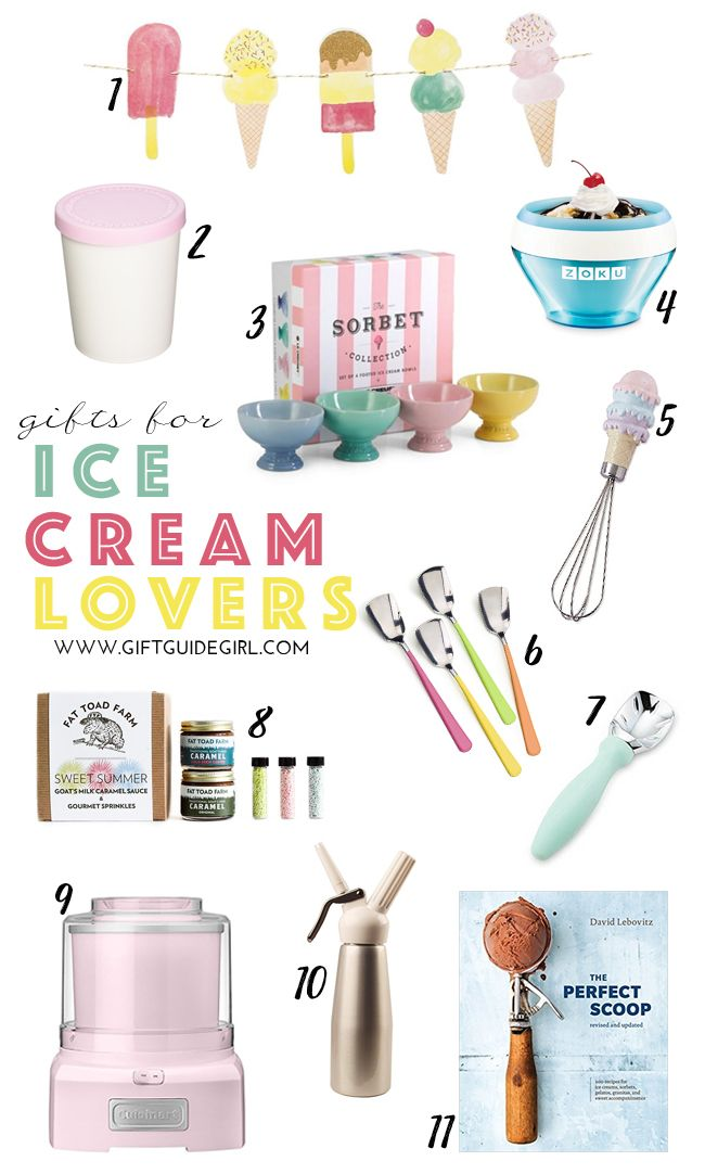 Ice Cream Gifts For Lovers Summer Kids Birthday